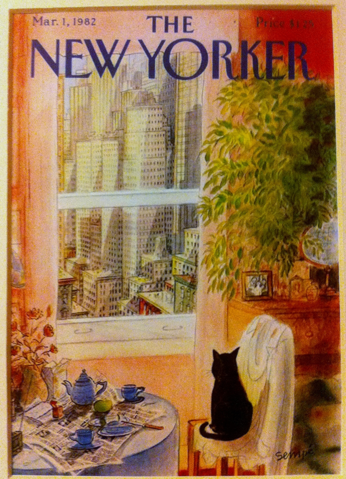 new yorker 1982